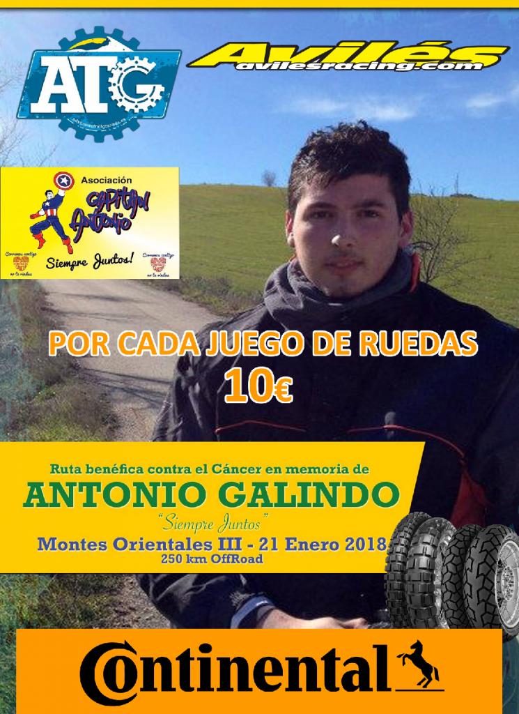 POR CADA JUEGO DE RUEDAS 10€ CONTRA EL CÁNCER